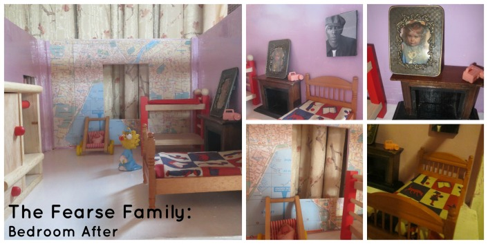 The Fearse Family: Dolls' house renovation (The Bedroom)
