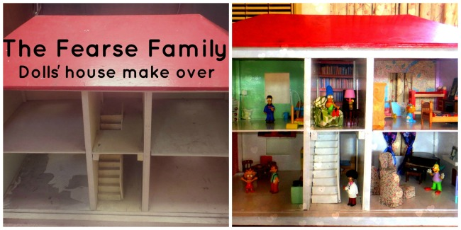 The Fearse Family: Dolls' house renovation