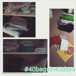 The Fearse Family: 40 bags in 40 days